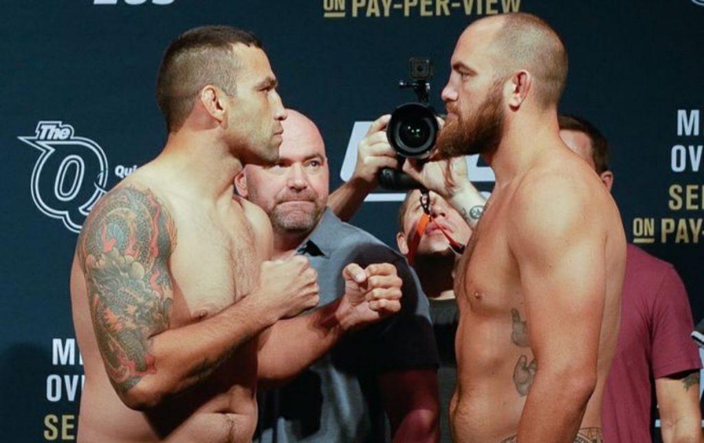UFC 203: Werdum vs. Browne